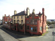 Ellesmere Port, The Station Hotel Pub, Cheshire © canalandriversidepubs co uk